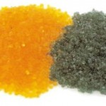 gold silica gel turns green when it has fully adsorbed moisture