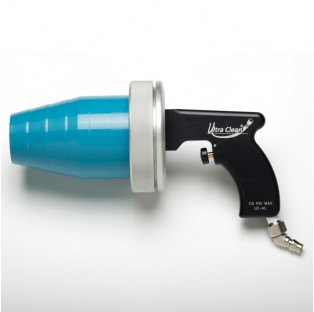 "1. 3-1/2"" Hand Launcher with Cleaning capability of 1/8"" through 3-1/2"" applications"